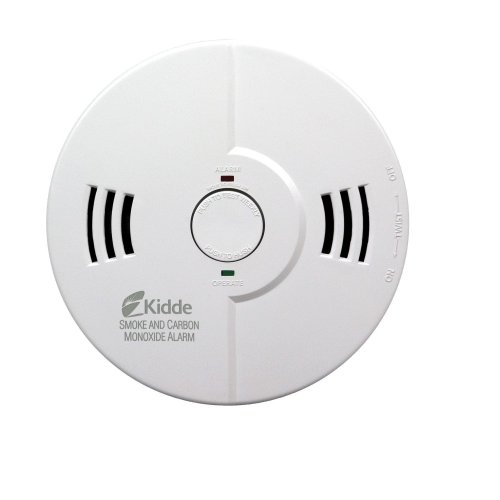 Kidde KN-COSM-B Battery-Operated Combination Carbon Monoxide and Smoke Alarm with Talking Alarm
