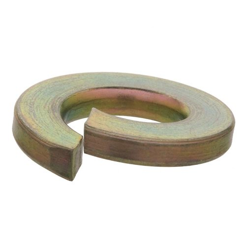 Crown Bolt 31492 3/4 Inch Yellow Zinc-Plated Grade 8 Lock Washers, 15-Count