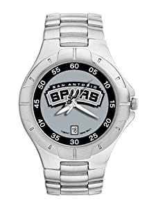 San Antonio Spurs Mens Pro II Watch by Logo Art