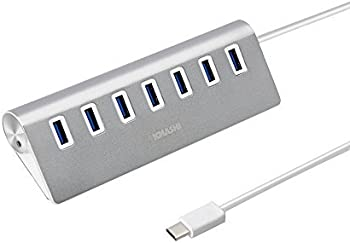 KMASHI USB-C to 7-Port USB 3.0 Hub