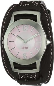 Esprit - ES104802001 - Montre Femme - Quartz Analogique - Bracelet Cuir Violet