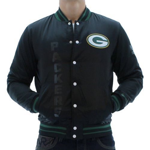 Nike NFL Elite Green Bay Packers Men's Sideline Jacket Black Size L at Amazon.com