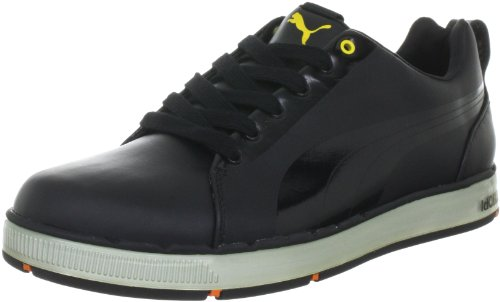 Puma Men's HC Lux Sports Shoes - Golf 185831 Black-Cyber 10 UK