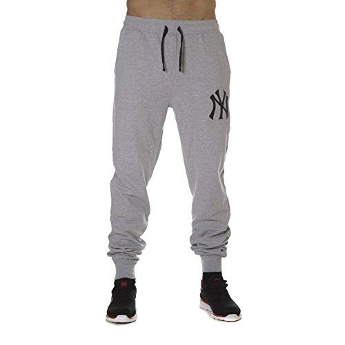 Majestic Athletic Pantaloni Felpa, Gris mélangé, L