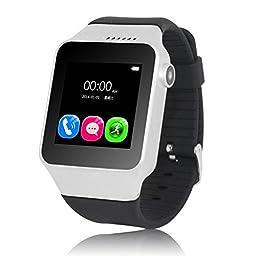 Aottom Bluetooth Smart Watch With Camera S39 Smart Band Waterproof & Pedometer & Sleep Tracker Long Standby Time Smart Wristband (Black)