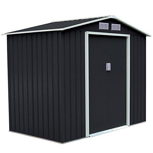 xxl metall ger tehaus 277x191x192cm ger teschuppen garten. Black Bedroom Furniture Sets. Home Design Ideas
