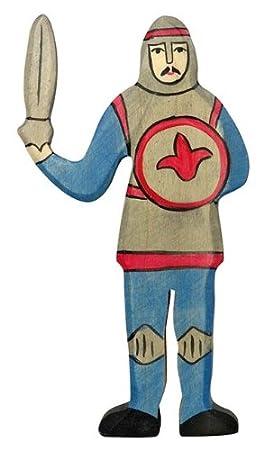 Holztiger - 2041139 - Figurine - Combats De Chevaliers En Bleu