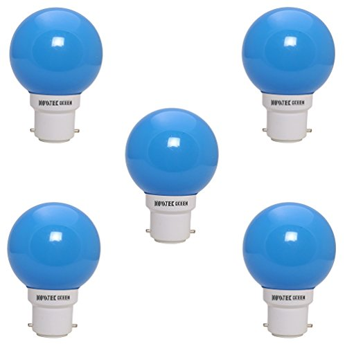 0.5W-LED-Bulb-(Blue,-Pack-of-5)
