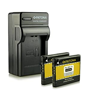 Bundle - Charger + 2x Battery Canon NB-11L with Infochip · 100% compatible with Canon Ixus 125 HS | 132 | 135 | 140 | 240 HS - PowerShot A2300 | A2400 IS | A2500 | A2600 | A3400 IS | A3500 IS | A4000 IS