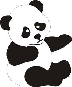 Amazon.com: Petticoat Parlor Panda Laser Cut