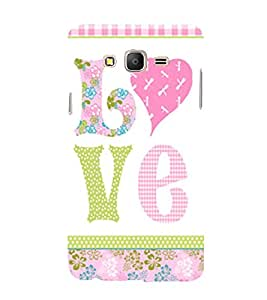Love is My Boy Friend 3D Hard Polycarbonate Designer Back Case Cover for Samsung Galaxy On7 :: Samsung Galaxy On 7 G600FY