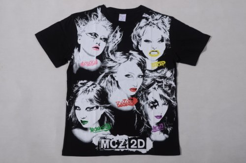 ももいろクローバーZ 公式グッズ Lady-ZのビジュアルTシャツ(LV限定)ブラック・Lサイズ