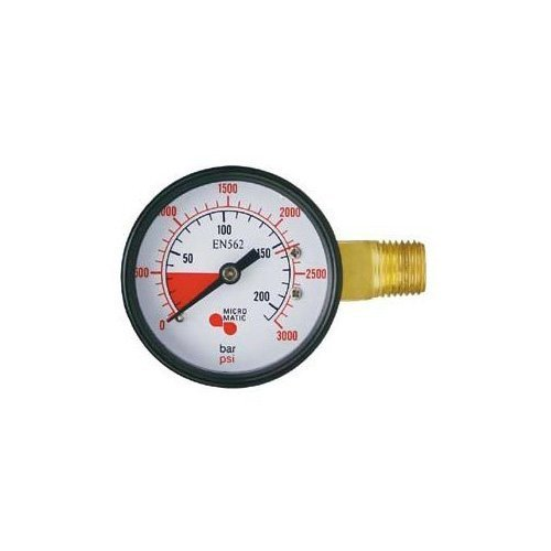 Learn To Brew High Pressure Replacement Gauge, Left Hand Thread (Co2 Gauge For Kegerator compare prices)