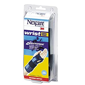 3M Nexcare: Carpal Tunnel Brace with Breath-O-Prene