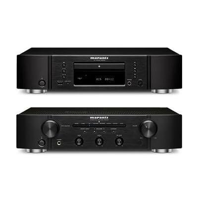 Marantz PM6005 Integrated Amplifier and CD6005 Single Disc CD Player Bundle by Marantz