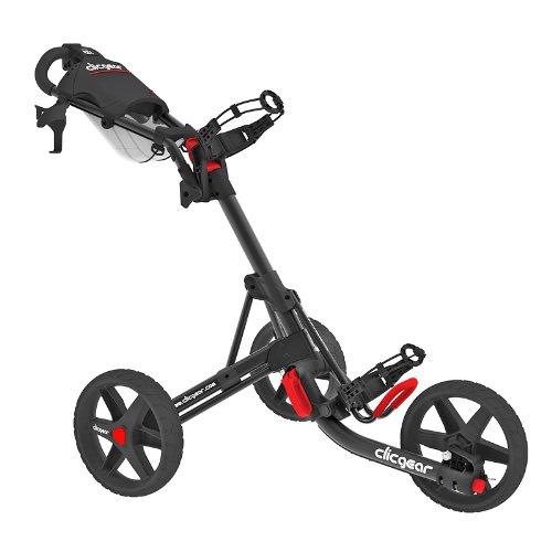 Clicgear Tolley 3.5 - Charcoal / Black - Drei-Rad-Golftrolley Push Cart