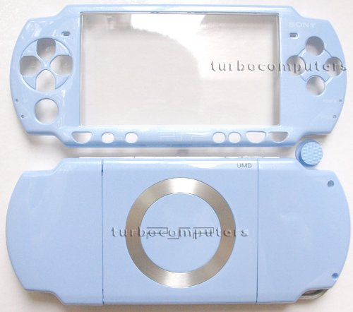 Felicia Blue PSP 2000 Series Full Shell Cover Housing Replacement with Button Set