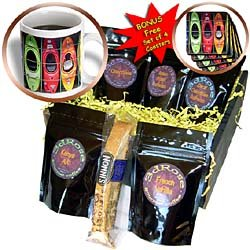 Water Sport - Kayak - Coffee Gift Baskets - Coffee Gift Basket