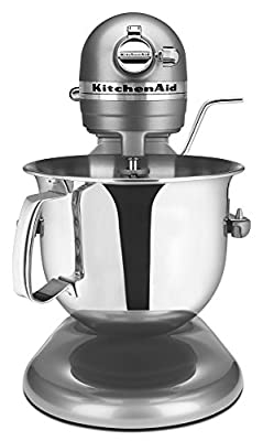 KitchenAid RKSM6573CU 6-Qt. Professional Bowl-Lift Stand Mixer - Contour Silver (Certified Refurbished)