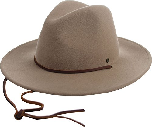 864766a7997 Brixton Men s Field Wide Brim Felt Fedora Hat