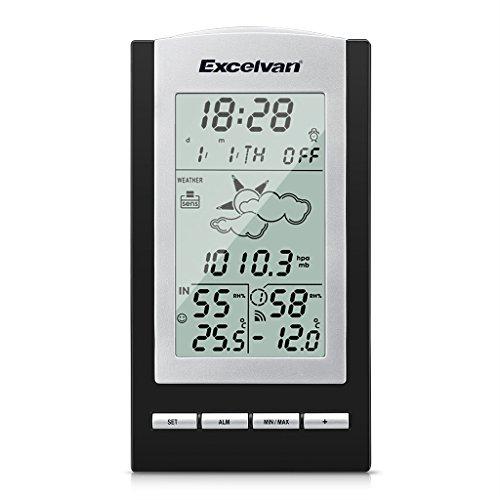 Excelvan Stazione Wireless Indoor e Outdoor Digital Multi Function Tempo