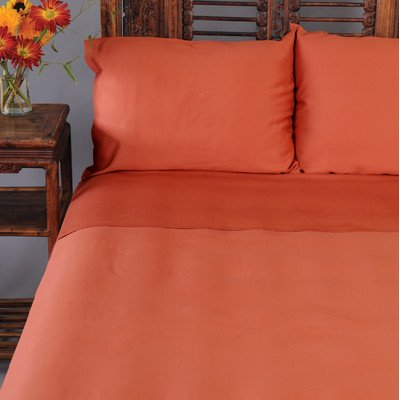 Bamboo Dreams Sheet Set Size: California King, Color: Sienna