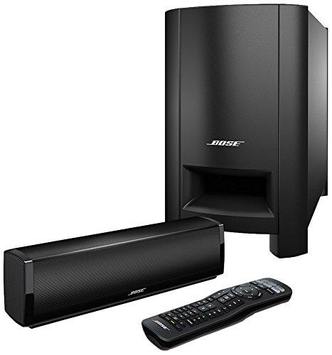 Bose® CineMate15® Heimkinosystem (2x Lautsprecher, Eingang: optische Audio, Coaxial, R-L Audio) schwarz
