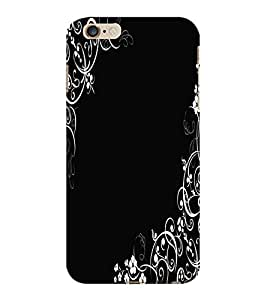ColourCraft Lovely Pattern Design Back Case Cover for APPLE IPHONE 6S PLUS