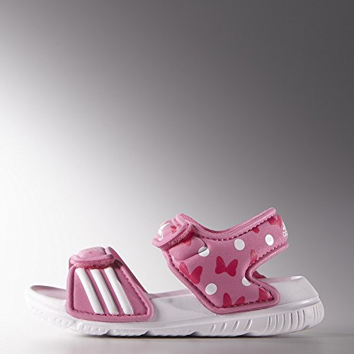 adidas Disney Akwah 9 Rosa/bianco dimensioni 23 sandali da bambino