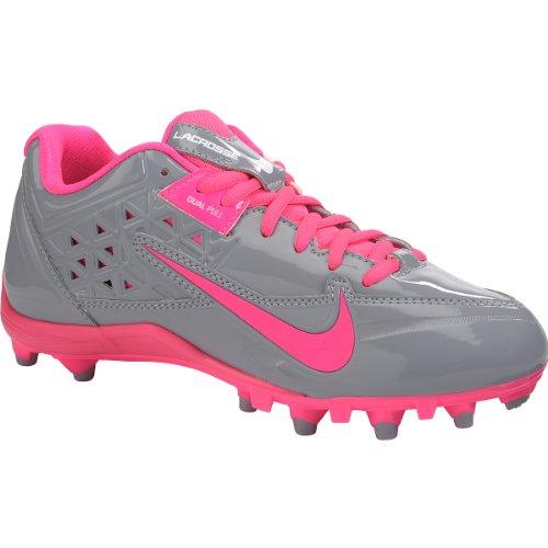 New Nike Womens Nike Speedlax 4 (Pink/Gray, Medium / 10 B(M) US)