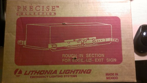 Lithonia Lighting Rough-In Secition For Precise Led Edge Lit Exit Sign Ac Only