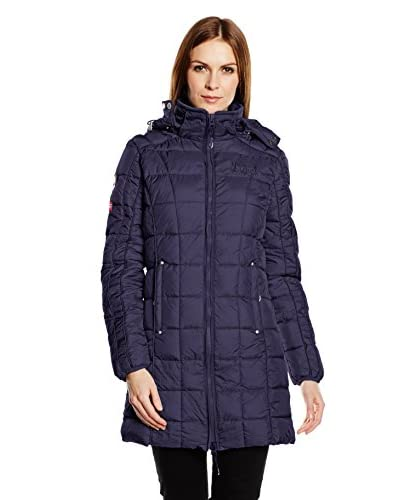 Geographical Norway Cappotto Berechite Long [Blu Navy]