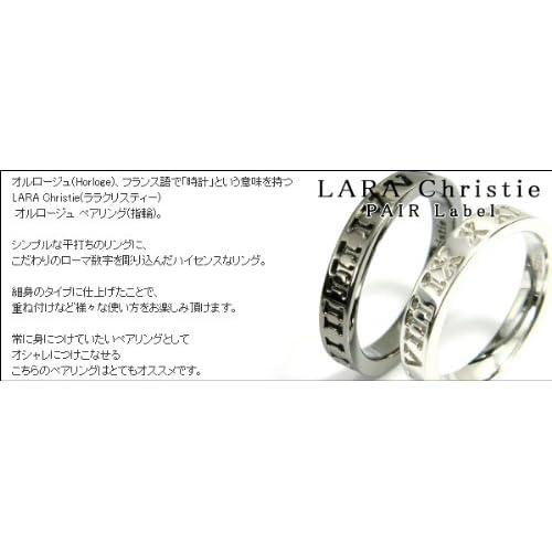 (ララクリスティー) LARA Christie ララクリスティー LARA Christie オルロージュ ペアリング [ PAIR Label ペアレーベル] R6029-P