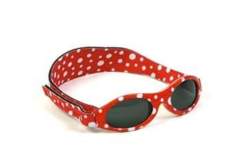 Baby Banz - Lunettes de soleil 2-5 ans Protection UV400 - Pois rouges