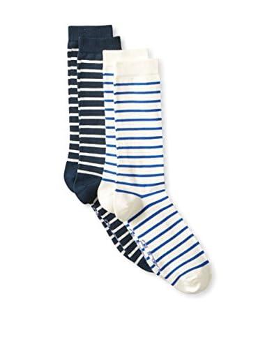 Ozone Men's Classic Stripe Socks- 2 Pack