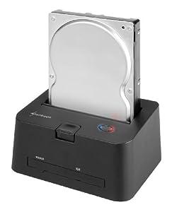 Sharkoon QuickPort Combo - HDD Dockingstation für IDE und SATA Festplatten, USB 2.0