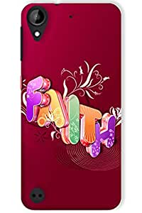 IndiaRangDe Hard Back Cover FOR HTC Desire 530