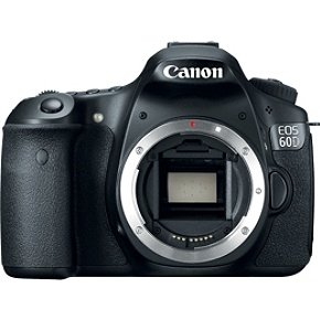 Canon EOS 60D 18MP SLR Camera + EF 70-300mm f/4-5.6 IS USM Lens $860