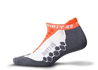 Thirty48 Running Socks Series Unisex, with CoolMax® Fabric Keeps Feet Cool &... by Thirty 48
