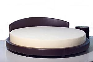 "Amazon Round Memory Foam Mattress 86""diameter"