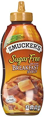 Smuckers Sugar Free Breakfast Syrup, 14.5 Oz (Pack of 2) from Smuckers