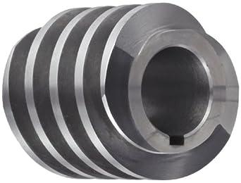 "Boston Gear D1418KRH Worm Gear, 14.5 Degree Pressure Angle, 0.750"" Bore, 10 Pitch, 1.25 PD, RH"