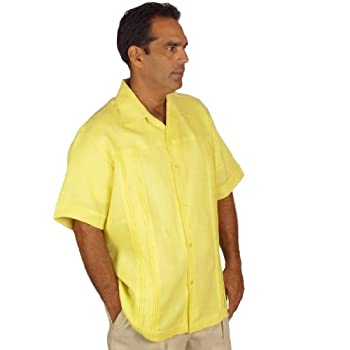 Shirt for Men. Superior Irish, size medium & yellow.