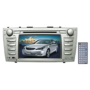 PYLE PLDNTC7 Direct Factory Replacement for Toyota Camry Touch Screen DVD/MPEG4/MP3/CD-RW/USB/SD/ System With 7'' HD Monitor and Bluetooth