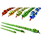150cm 5ft soft toy snake - 6 assorted cuddly plush designs, 1 sent out at random - Keel Toys