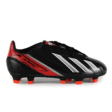 Buy Adidas F10 TRX FG Junior Soccer Cleats - Black Running White Infrared (Boys) by adidas