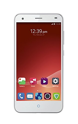 ZTE Blade S6 LTE 4G Smartphone Octa Core 1.5GHz Dual SIM 5'' Zoll IPS HD Screen Android 5.0 Handy ohne Vertrag Qualcomm MSM8939 2GB+16GB 13.0MP+5.0MP Dual Kameras GPS Air Gesture WIFI Silber
