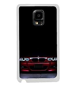 Luxury Car 2D Hard Polycarbonate Designer Back Case Cover for Samsung Galaxy Note 4 :: Samsung Galaxy Note 4 N910G :: Samsung Galaxy Note 4 N910F N910K/N910L/N910S N910C N910FD N910FQ N910H N910G N910U N910W8