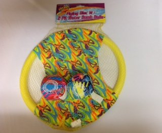Pools Toys Flying Disc with Water Bomb Balls