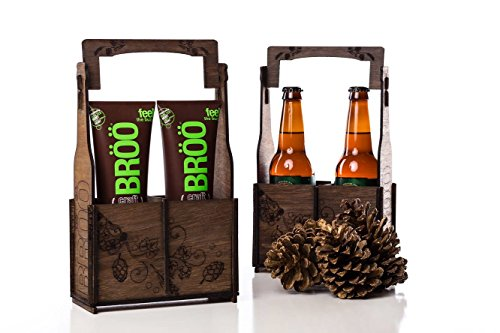 Höppy Holiday Beer Shampoo Caddy from BRÖÖ (Craft Beer Shampoo compare prices)